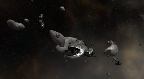 Vidette: Debris Field - Spaceshuttle Wreck