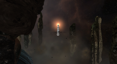 Vidette: Asteroid Temple - Mysterious Probe